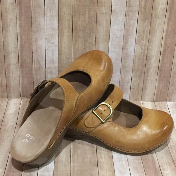 722f129782 Dansko Shoes - Dansko Martina Honey Slip On Mary Jane Mule Clog